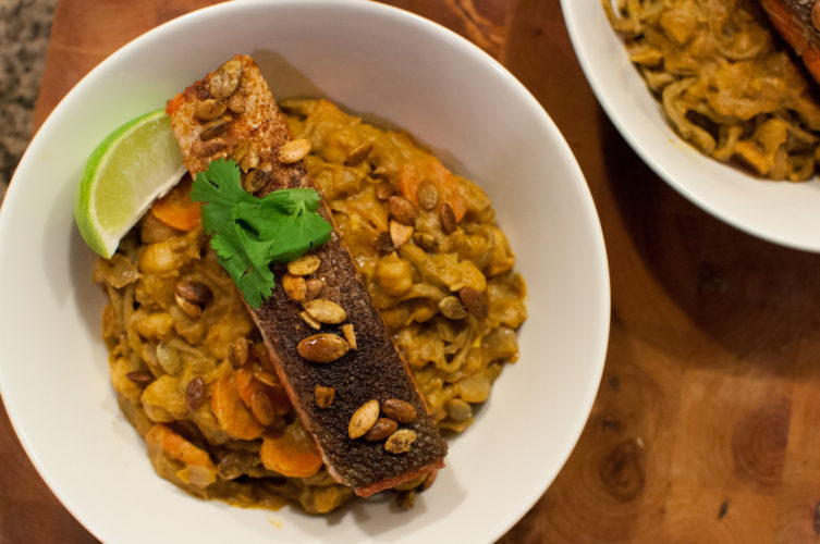 Pumpkin Coconut Curry Picture